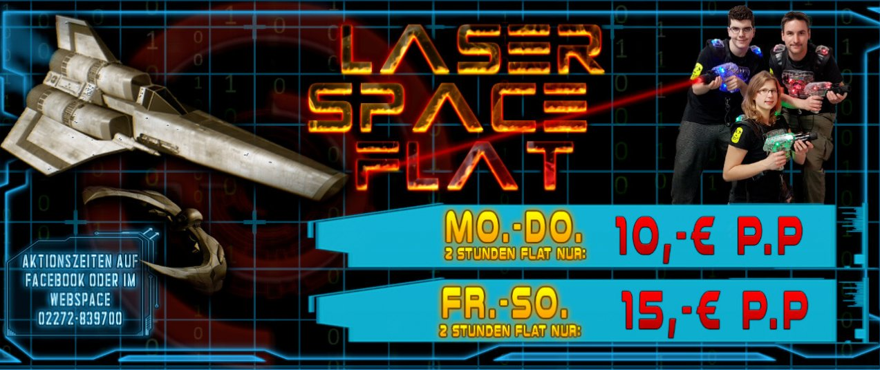 Angebote LaserSpaceFlat sonderangebote lasertag-bedburg