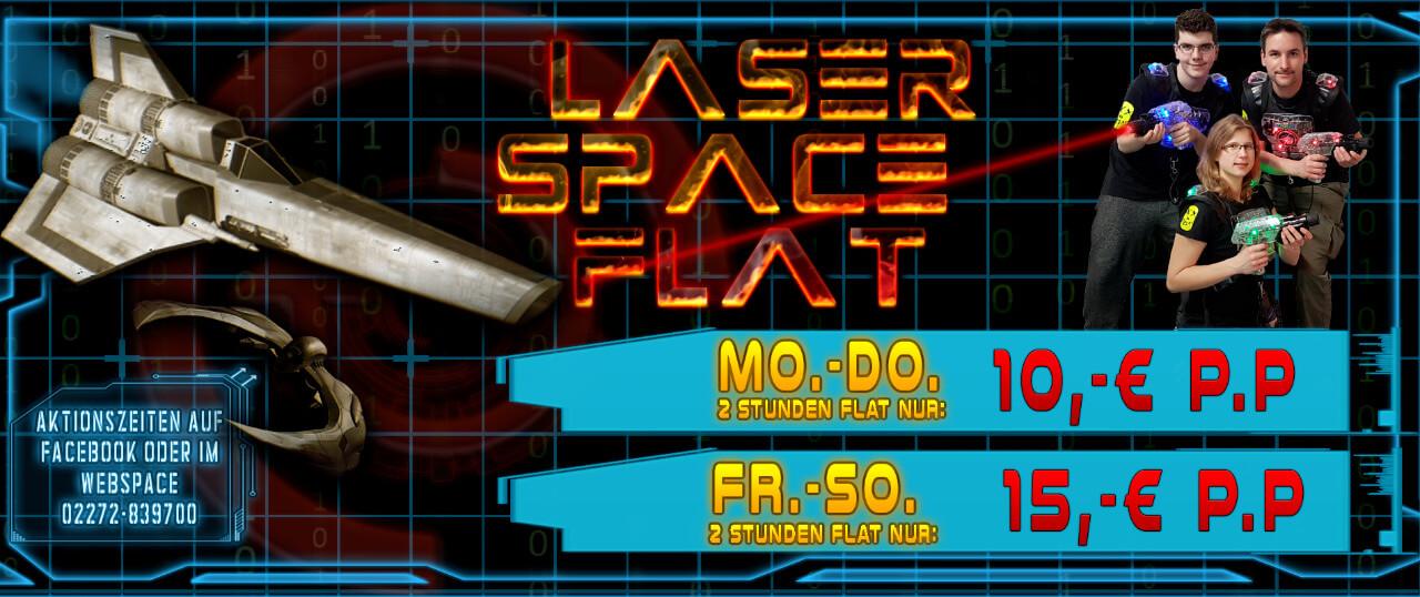 Angebote LaserSpaceFlat